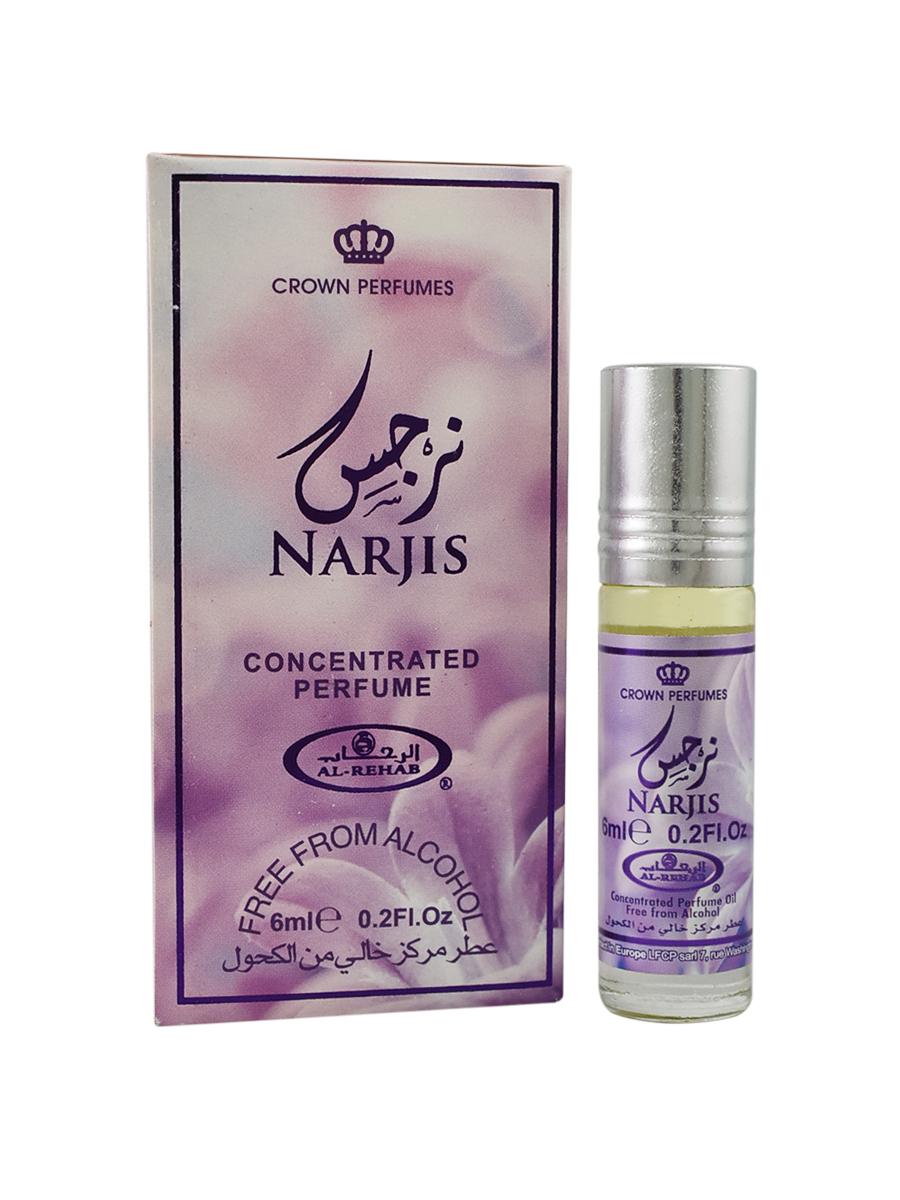 Narjis 6 мл арабские мужские масляные духи от Аль Рехаб Al Rehab