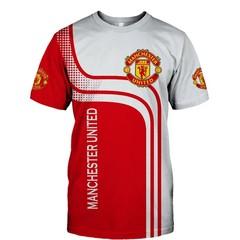 Футболка 3D принт, ФК Манчестер Юнайтед (3Д FC Manchester United)