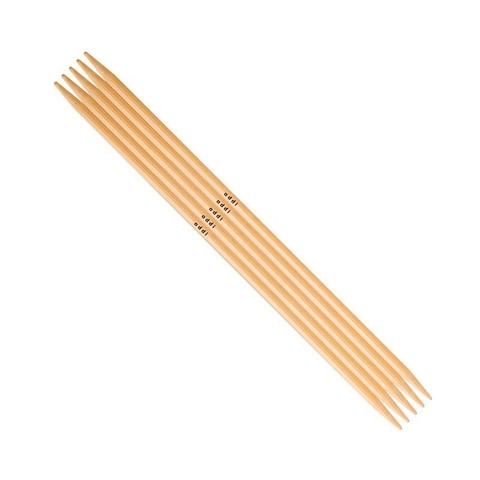 ADDI Спицы чулочные, бамбук, №4, 15 см. 5 шт