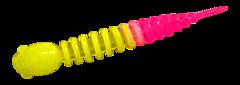 Силиконовые приманки Trout Bait Chub 65 (65 мм, цвет: Лимонно-розовый, запах: чеснок, банка 12 шт.)