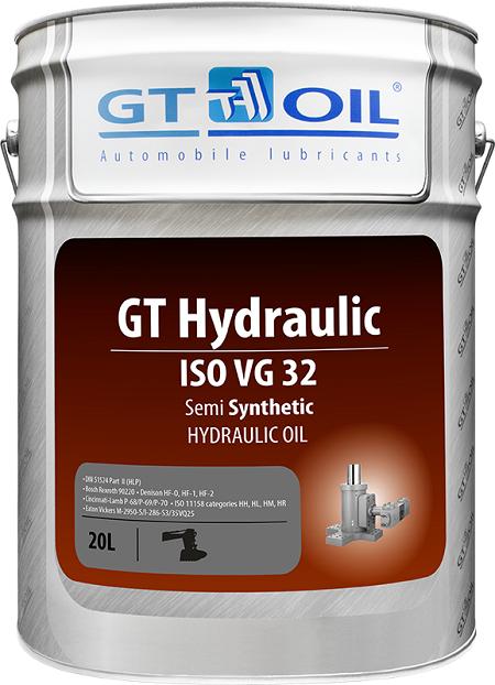 Гидравлические масла GT Hydraulic ISO VG32 полусинтетика син_32.png