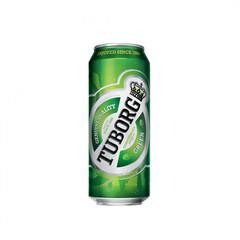 Pivə \ Пиво \ Beer Tuborg Green 0.45 L