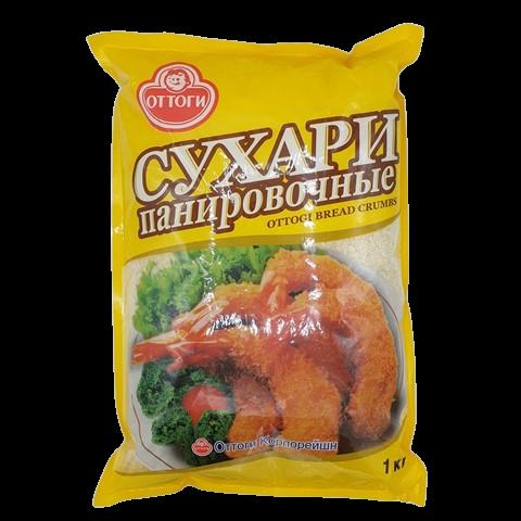Панировочные сухари Корейские Оттоги OTTOGI, 1 кг