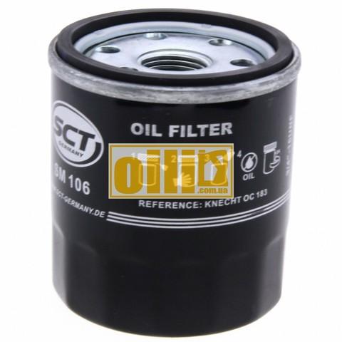 Фильтр масляный SCT SM106 (Daihatsu, Geely, Subaru, Suzuki, Toyota)