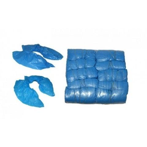 Бахилы Эхо мед голубые 20 мкр 200шт (100 пар)