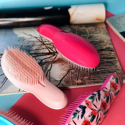 Масажна щітка для волосся Total Black Hair Brush Joko Blend (2)