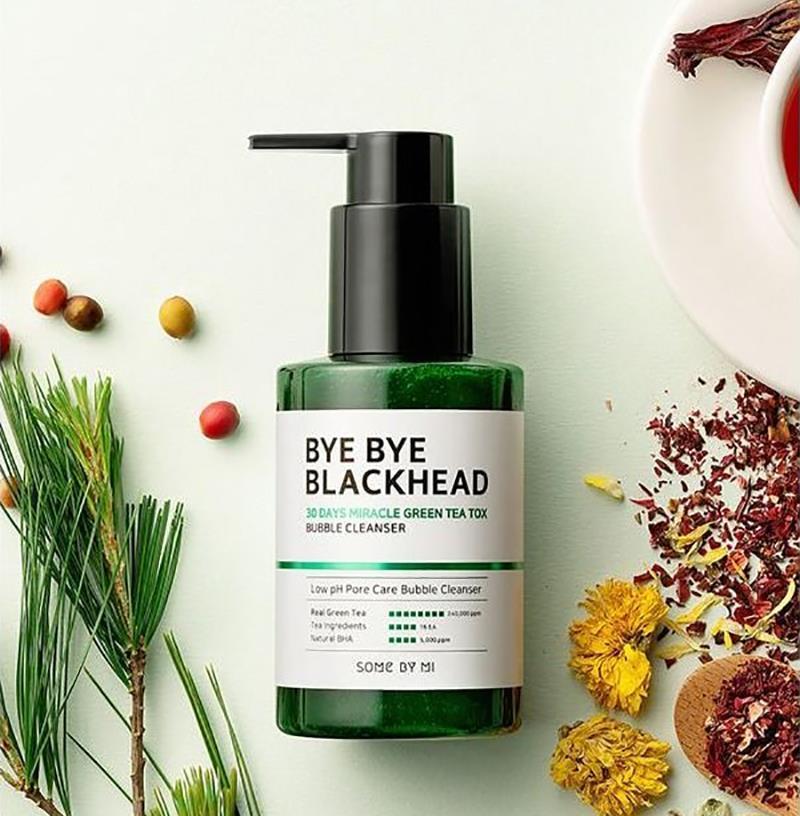 SOME BY MI Bye Bye Blackhead Bubble Cleanser кислородное очищающее средство против чёрных точек 120г