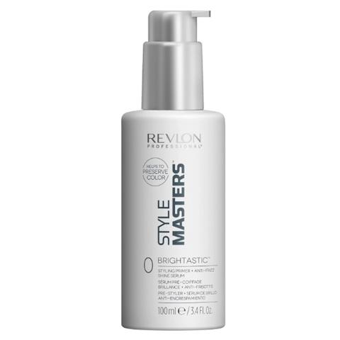 REVLON Style Masters: Моделирующий праймер и дисциплинирующая сыворотка для блеска волос (Dorn Brightastic), 100мл