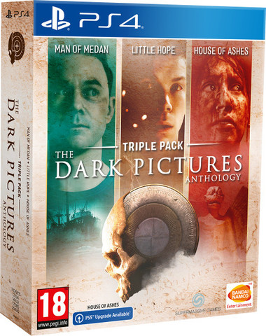 The Dark Pictures. Triple Pack (PS4, русская версия)