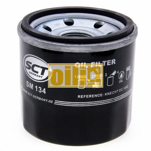 Фильтр масляный SCT SM134 (Ford, KIA, Honda, Mazda, Nissan, Renault, Subaru)