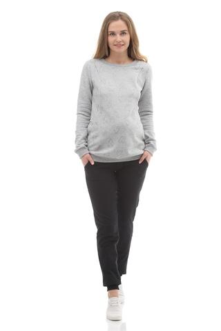 Спортивные брюки для беременных 09966 чёрный