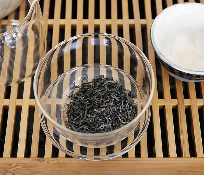 TEA-CH105 Зеленый китайский чай «Облачный Туман» ( Юнь У, 50 гр) фото 06