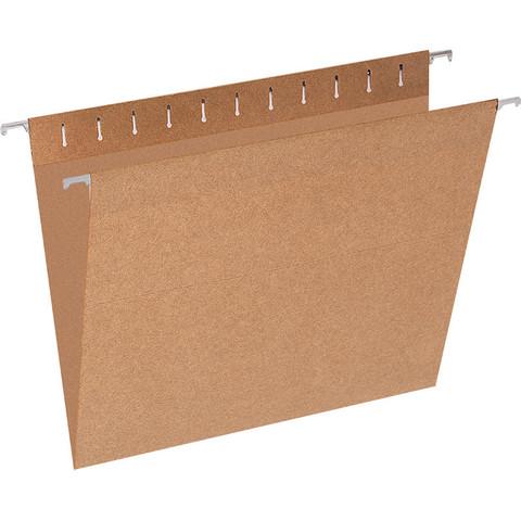 Подвесная регистратура Attache Economy А4 до 80 листов коричневая (10 штук в упаковке)