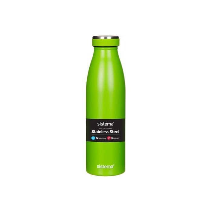 """Термобутылка Sistema """"Hydrate"""" 500 мл, цвет Зеленый"""