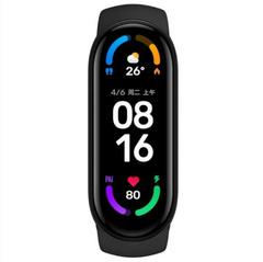 Фитнес часы-браслет M6 (черные)