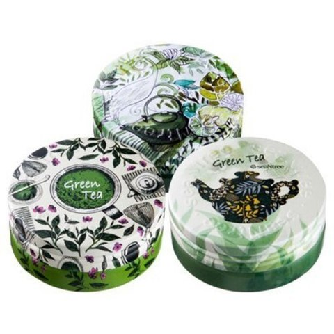 SeanTree Green Tea Deep Deep Deep Cream ультраувлажняющий крем для лица с зелёным чаем