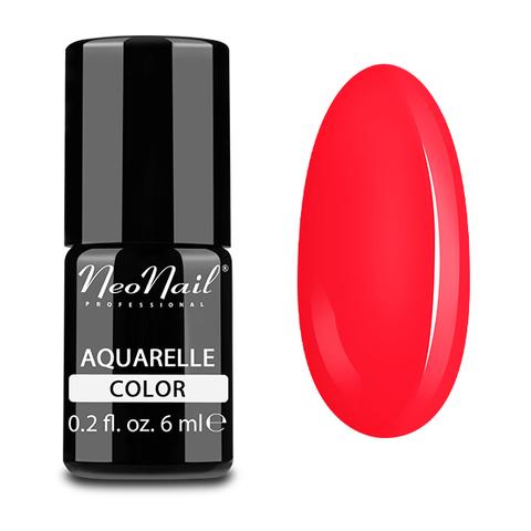 NeoNail Гель-лак акварельный UV 6ml Ruby Aquarelle №5508-1