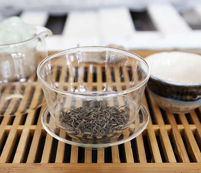 TEA-CH105 Зеленый китайский чай «Облачный Туман» ( Юнь У, 50 гр) фото 07