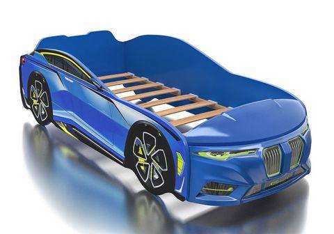Кровать машина Romack Boxter синий