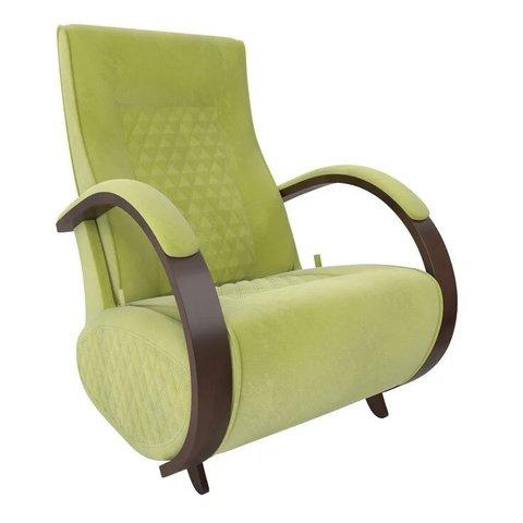 Кресло-глайдер Balance Balance-3 с накладками, орех/Verona Apple Green, 014.003