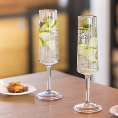 Бокал для шампанского Koziol Superglas CHEERS NO. 5, 100 мл, розовый, фото 2