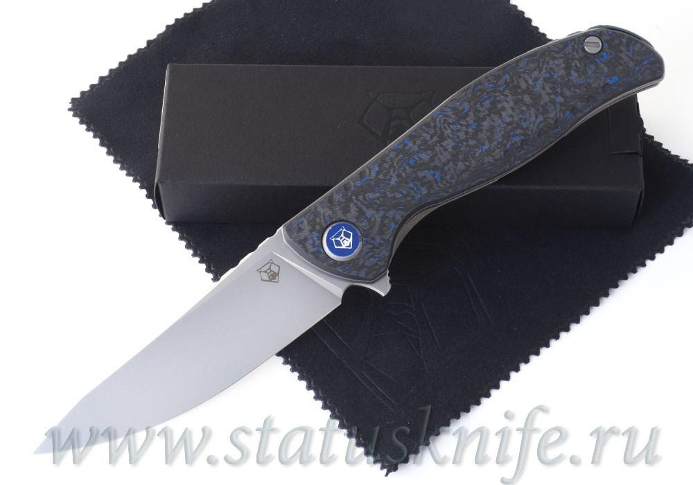 Нож Широгоров F3 NS M390 Ф3 Blue CF 3D подшипники