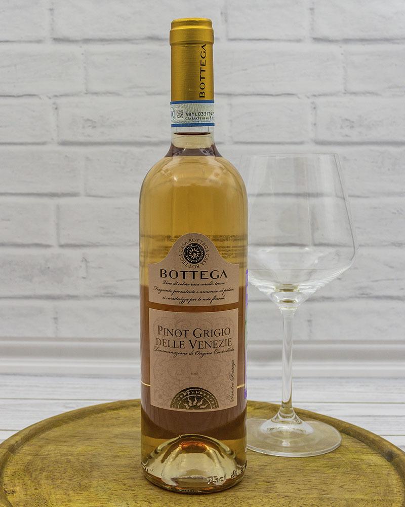 Вино Розовое Сухое Bottega Пино Гриджио Делле Венецие 12%, 0,75 л.