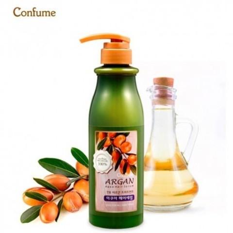 WELCOS Confume Сыворотка для волос с аргановым маслом Confume Argan Treatment  Aqua Hair Serum 500мл