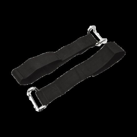 Ремень с крюком из круглого профиля для замка оцинкованный