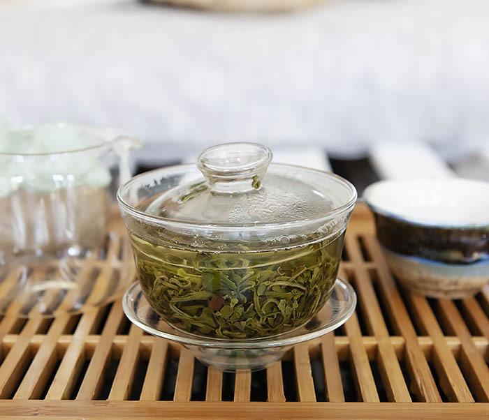 TEA-CH105 Зеленый китайский чай «Облачный Туман» ( Юнь У, 50 гр) фото 08