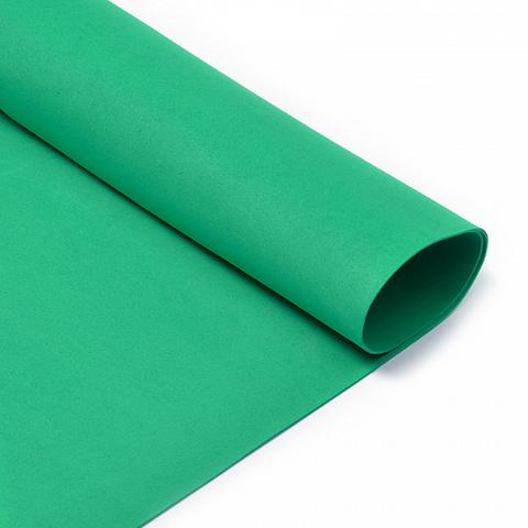 Фоамиран 1мм, 50*50 см, зеленый