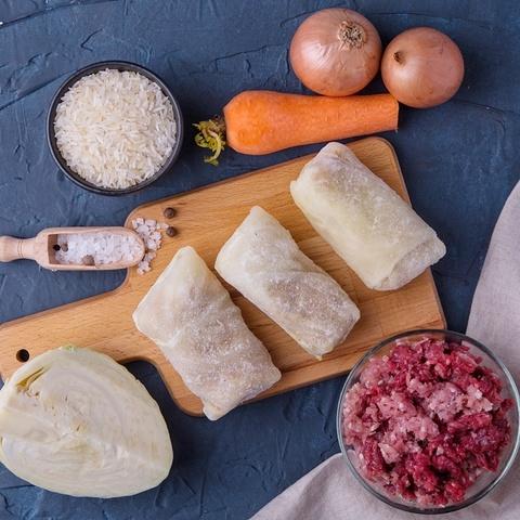 Фотография Голубцы мясные / 500 г купить в магазине Афлора
