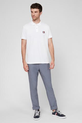 Мужские серые брюки с узором DENTON CHINO Tommy Hilfiger