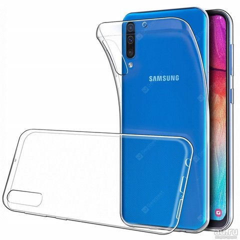 Чехол для Samsung Galaxy A50(A505F)/A30s(A307F)/A50s(A507F) - 2019 силикон | прозрачный