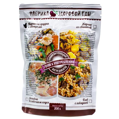 Куриная грудка с овощами 'Фабрика здоровой еды', 300г