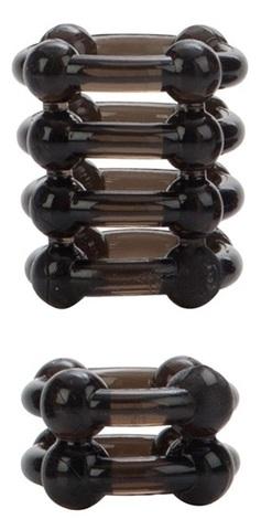 Набор из 2 дымчатых колец на пенис COLT Enhancer Rings
