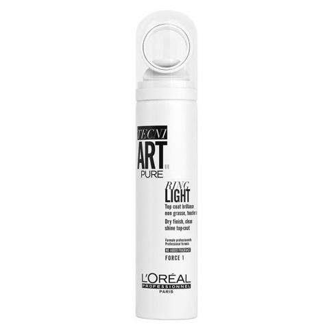 L'Oreal Professionnel Tecni.Art: Спрей для придания блеска волосам Ринг Лайт (Ring Light Pure), 150мл