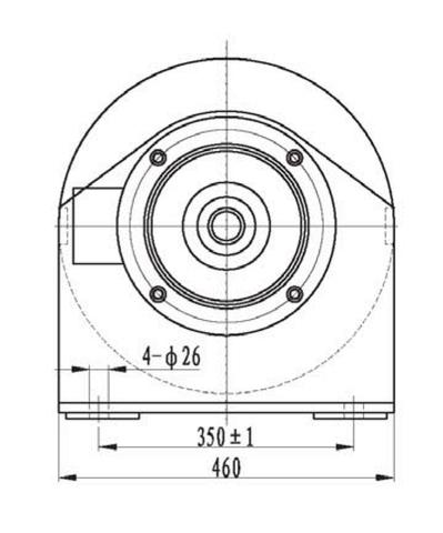 Компактная электрическая лебедка IDJ22.52.5-22-250-14 (6.6)