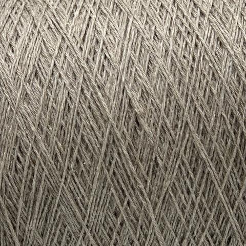 Бобинная пряжа G&G Filati (пр.Италия),art.SILVER, 500м/100гр, 70% меринос, 30% шелк, цвет - бежевый меланж, арт.6784