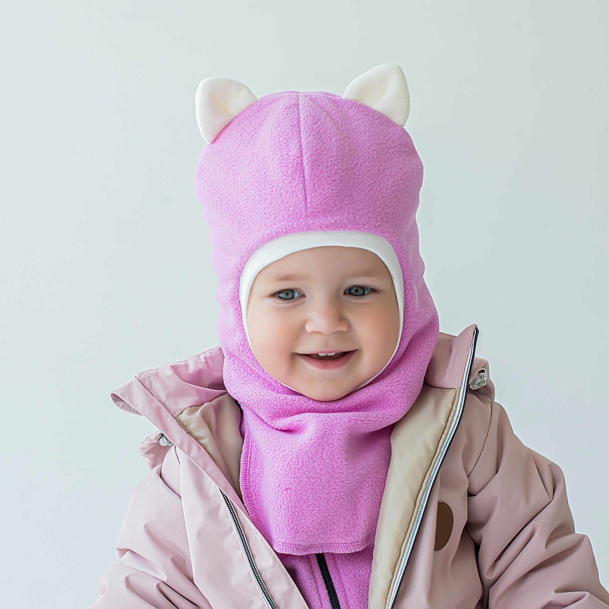 Шлем зимний флисовый