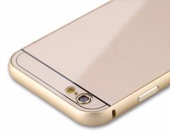 Стильный защитный чехол для Iphone 5/5s (gold)