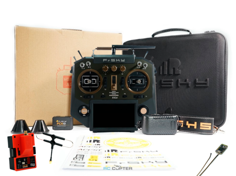 Аппаратура управления FrSky Horus X10S Amber 2.4 ГГц 16 каналов +R9MM +R9M