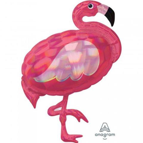 А ФИГУРА/P40 Фламинго переливы перламутр