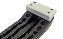 Степ-платформа  (пластик, покрытие TPR, 89,5x35x15 см,)