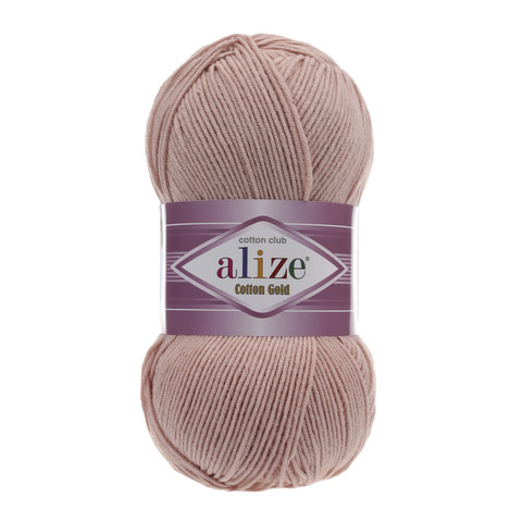 Пряжа Alize Cotton Gold пудра 161