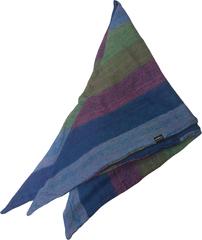 Косынка - шарф бактус - полосатая