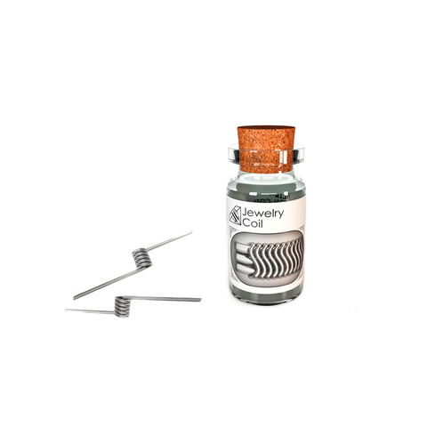 Jewelry Coil Corrugated Reliefed NiCr 2*0,25 NiCr 0,1x0,3 NiCr 0,1 (Ø3  0,6 Ω single coil) 2шт