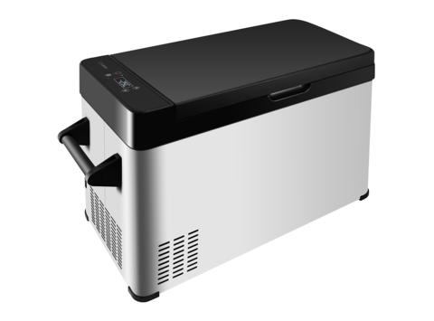 Компрессорный автохолодильник Libhof B-55 (Двухкамерный, 12V/24V, 110V/220V опционально, 52л)