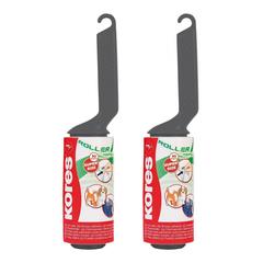 Ролик для чистки одежды Kores запасной блок 2х80 л., арт.32402.02