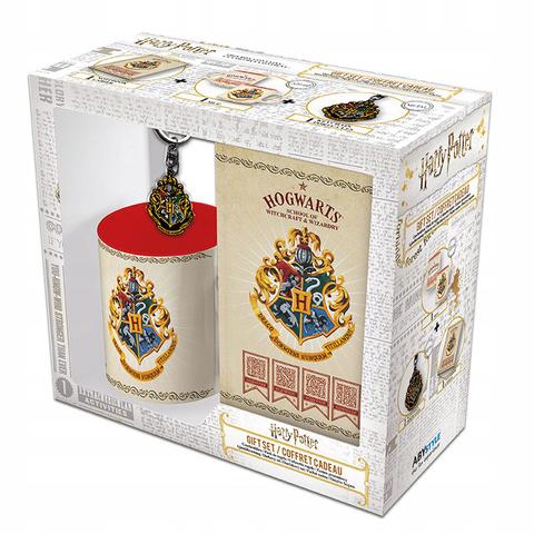 Набор подарочный Harry Potter Hogwarts Кружка 320 ml+Брелок+Записная книжка A6 ABYPCK140